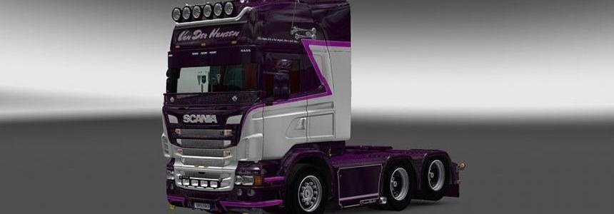 Scania RJL Van Der Hansen Skin