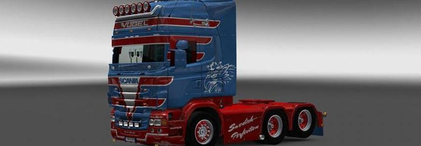Scania RJL Vogel Skin