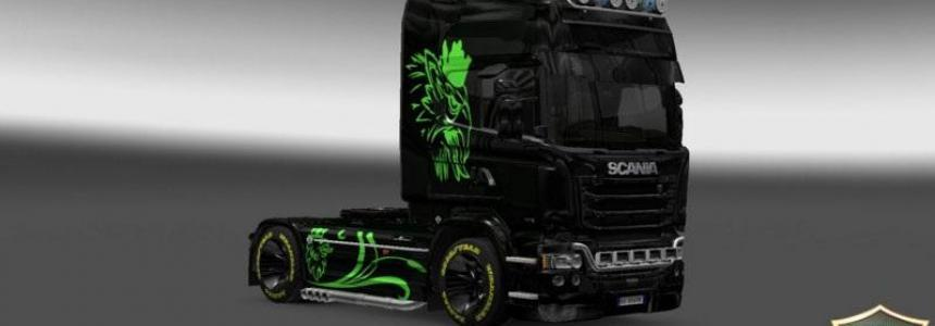 Scania Streamline Green Eagle Skin