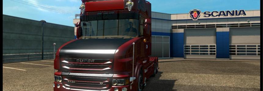 Scaniaa R730 V8 1.21x