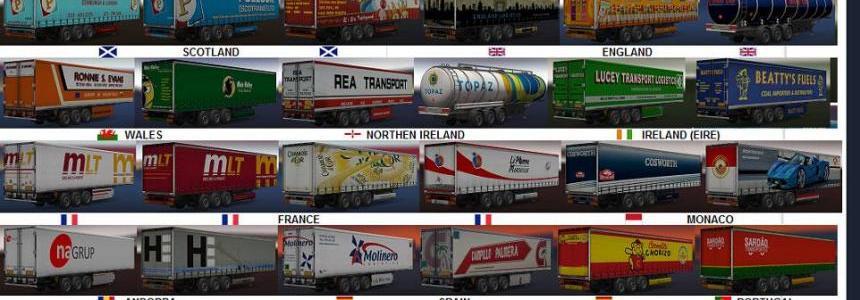 Seleselenia Europe + Africa trailers