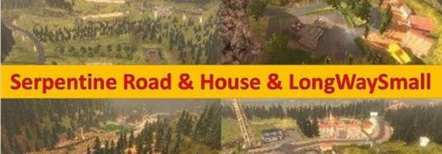 Serpentine Road & House & Long Way Small v9.3