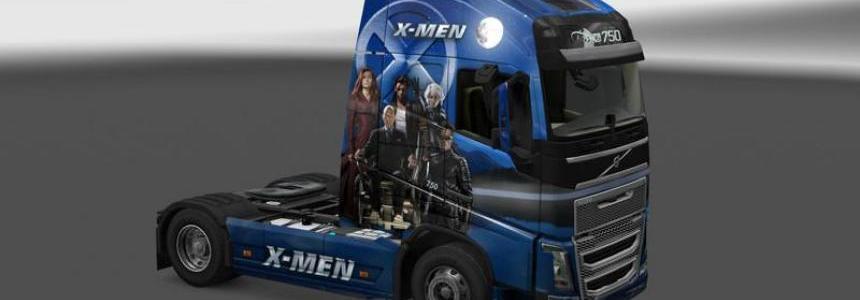 Skin X Men v1.0