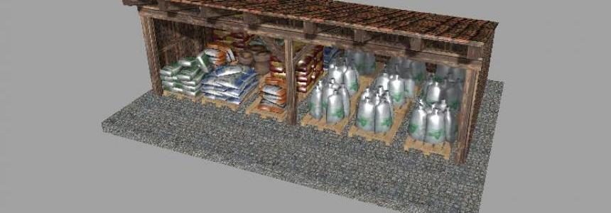 Small seeds and fertilizer warehouse v1.0