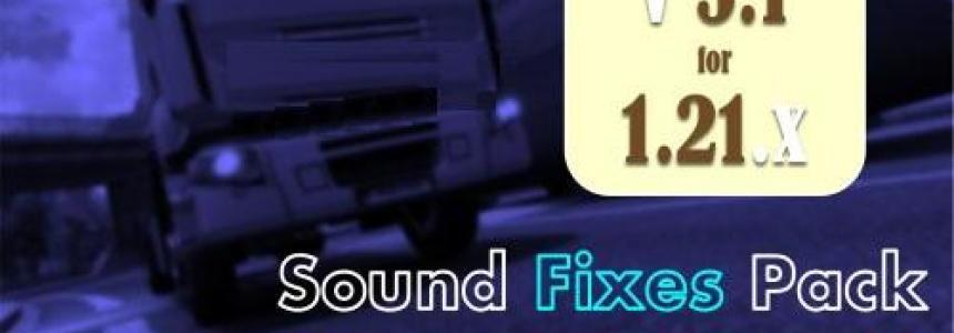 Sound Fixes Pack + Hot Pursuit Sounds v5.1