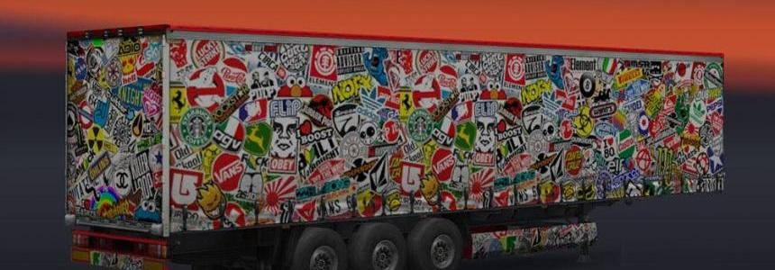 Stickerbomb Trailer