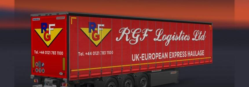 Trailer Container Fruehauf for ETS2 1.21.1 – v1.1