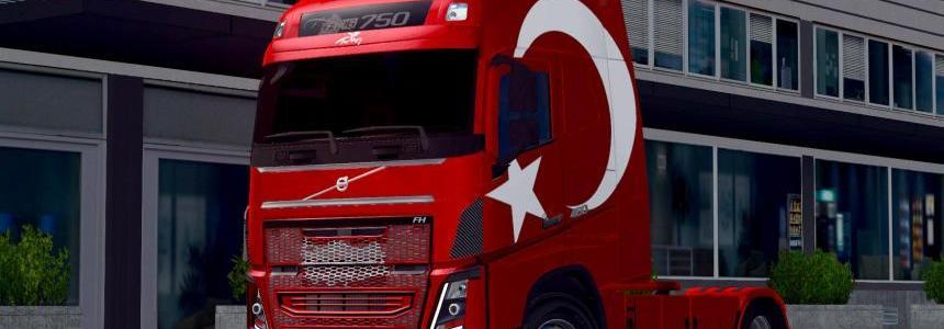 Turkey Skin for New Volvos v1