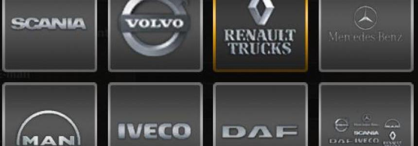 Truck Brands for Player Logo
