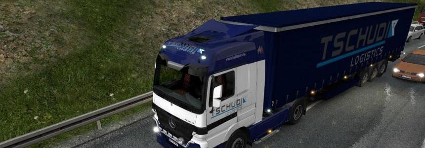 TSCHUDI Logistics pack for Mercedes Actros 2009