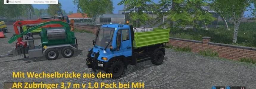 Unimog U400 WB 1.2 with Portalkran