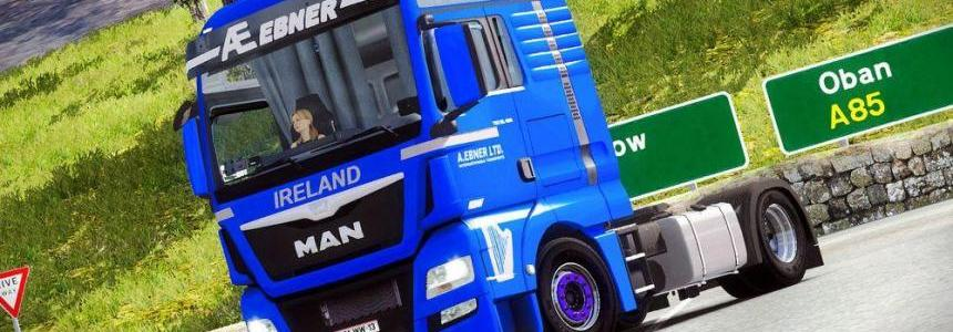 Van Geest International DAF XF Euro 6 Combo skin pack