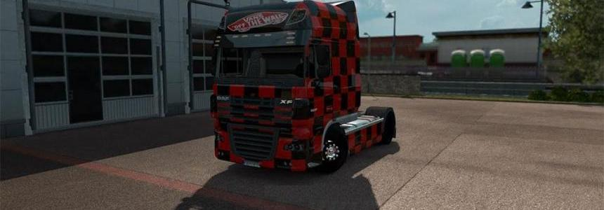 Vans skin for DAF XF Super Space