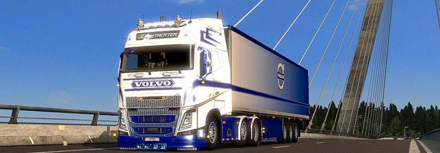 Volvo FH2013 (ohaha) Blue & White Combo Pack