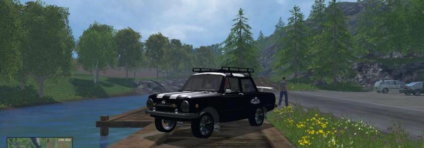 ZAZ 968M Black V1.0