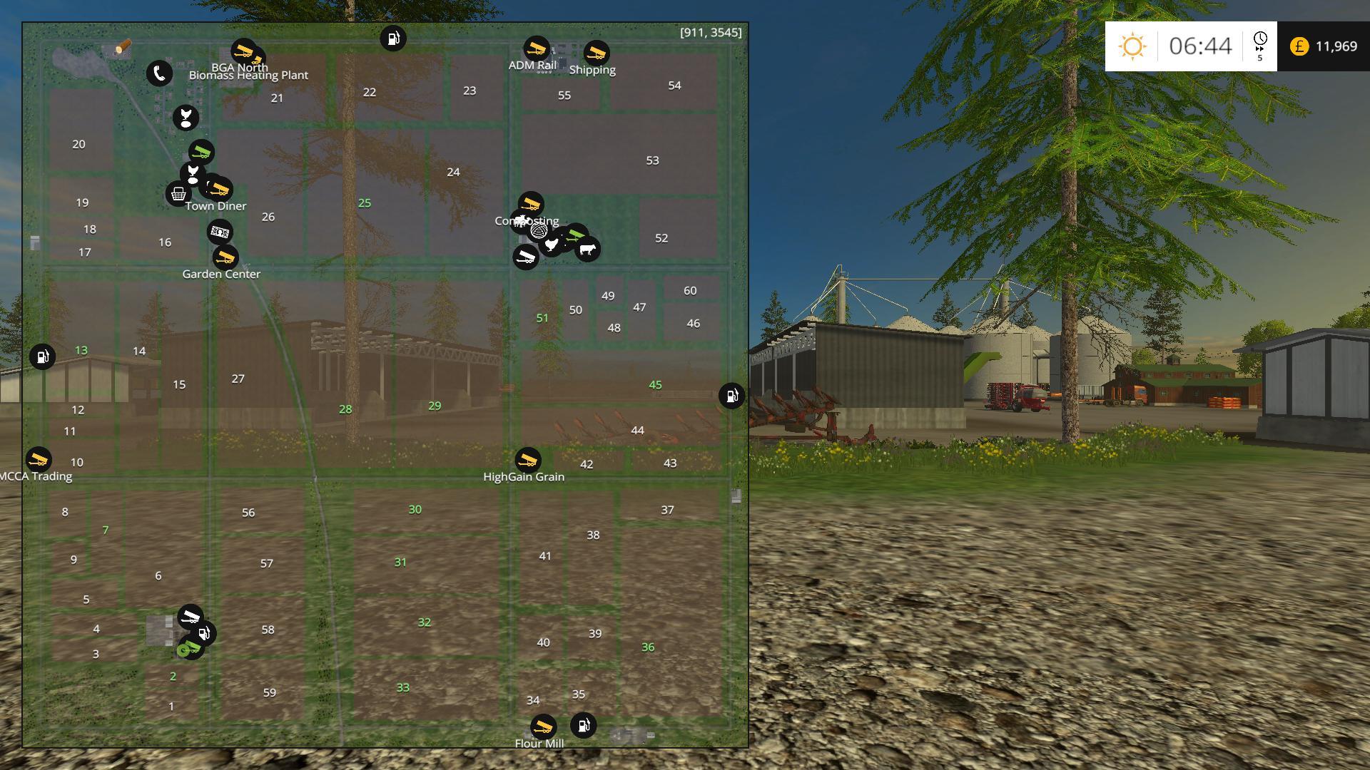Michigan Cash Crop Acres V Dual Maps By Stevie Modhubus - Us 23 michigan map