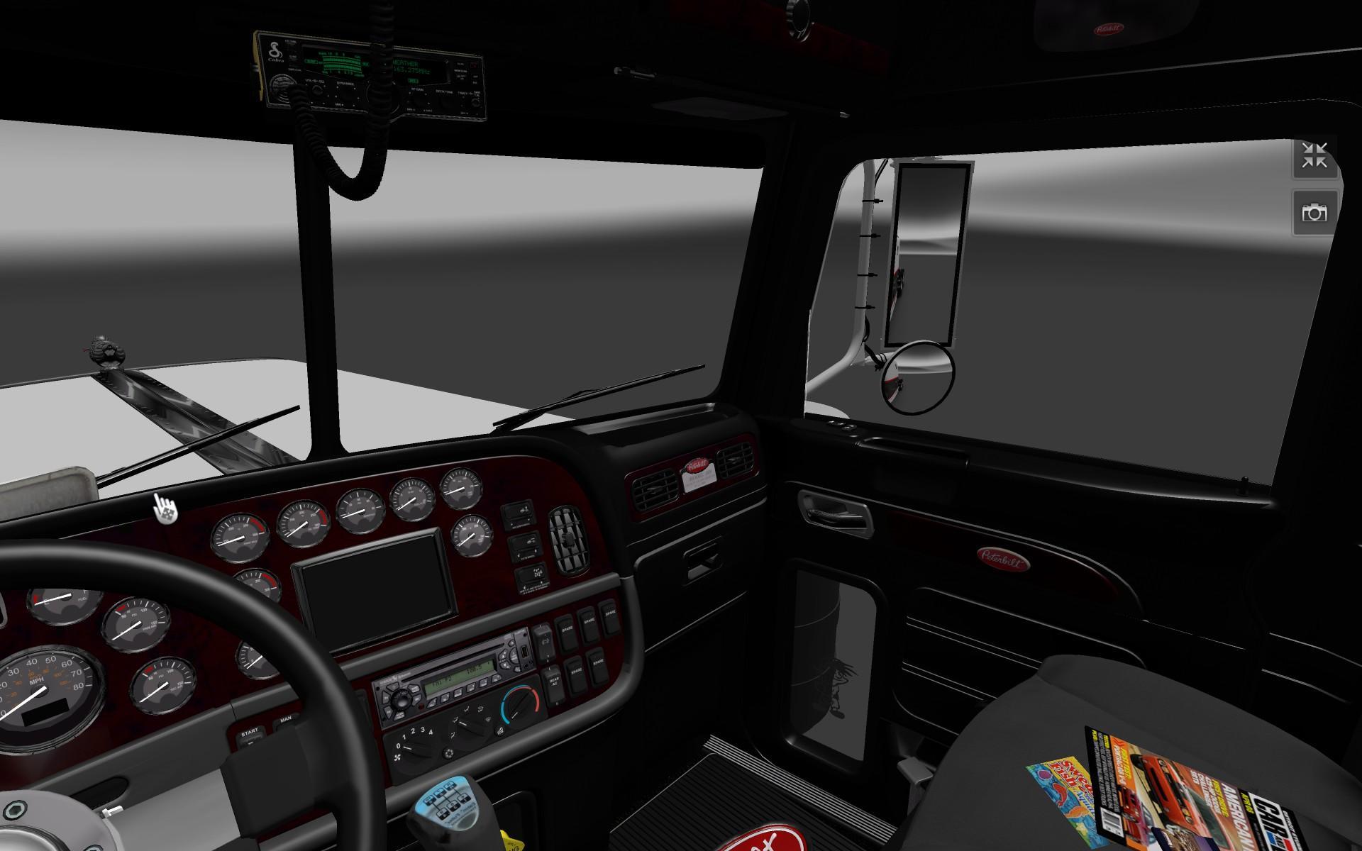 Peterbilt 389 Dark Interior