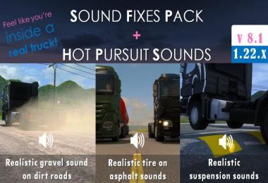 Sound Fixes Pack + Hot Pursuit Sounds v8.1