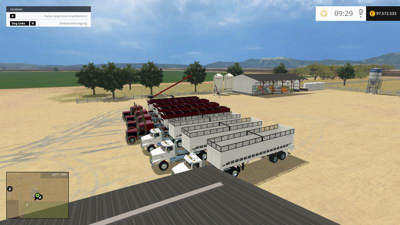 California Central Valley V Modhubus - Farming simulator 2015 us map feed cows