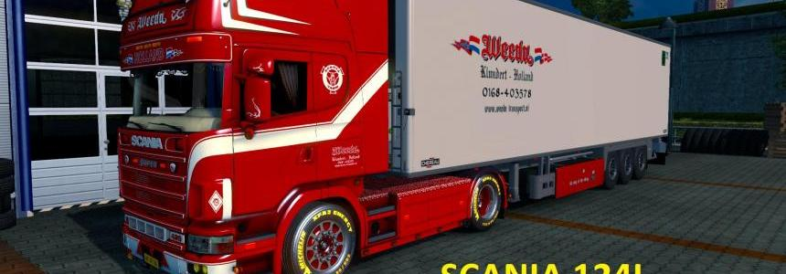 Scania Weeda 124L Holland Truck 1.22.x