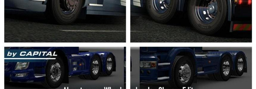 Abasstreppas Wheel Pack – Chrome edit v1.3