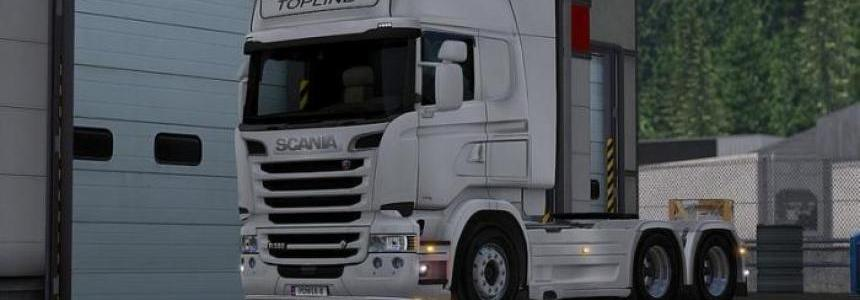Accessories for Scania R & Streamline RGL 1.22