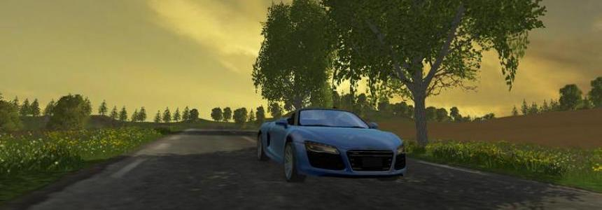 Audi R8 V10 Spyder v1.1