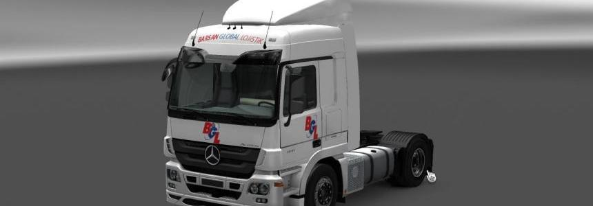 Barsan Global Lojistik skins 1.22