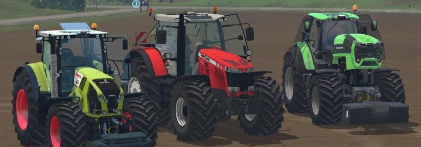 Big Tractors pack v1.0