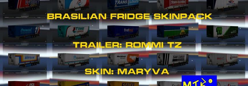Brazilian Fridge Skin Pack