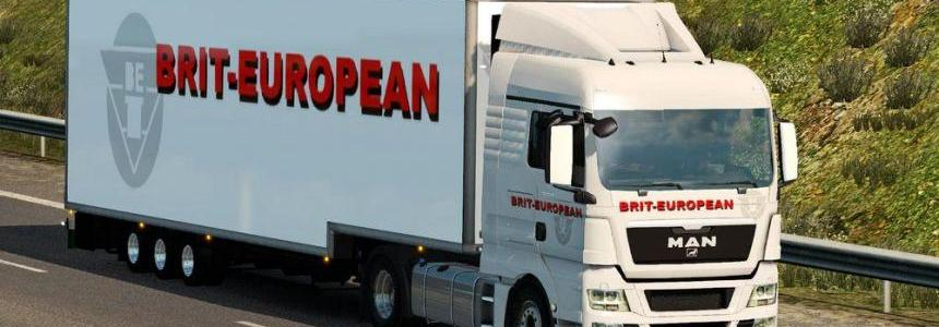 Brit European MAN TGX Combo Pack
