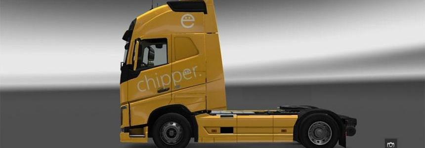 ChipperTimes Volvo FH 2012 Globetrotter XL Skin