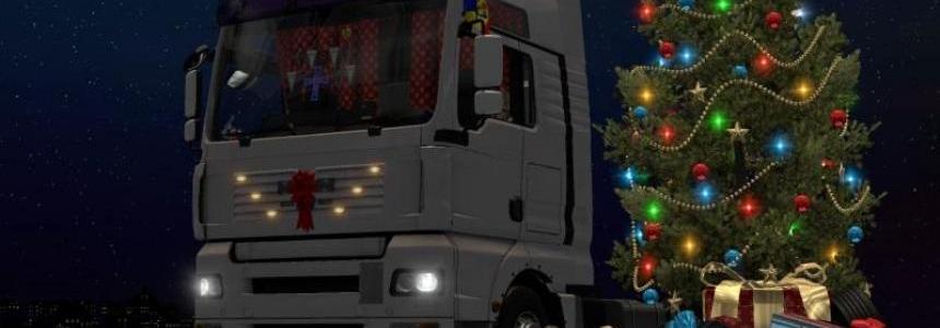 Christmas DLC for MAN Trucks v1.22.x