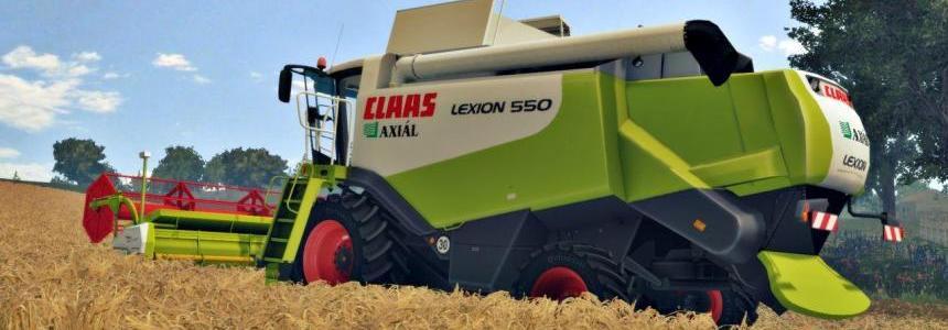CLAAS LEXION 550 PACK V2