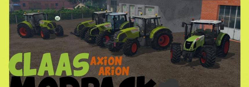 CLAAS (Tractors) Pack by MajsterX
