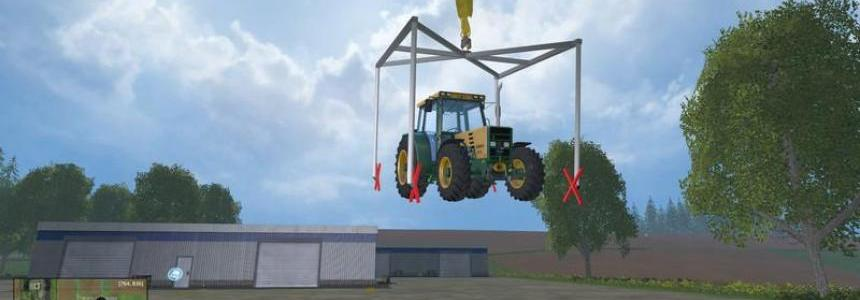 Crane lifting frame v1.0