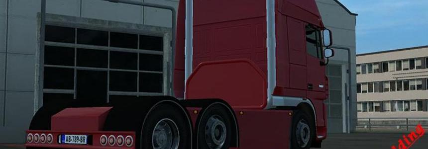 Custon chassis Daf xf 105 SCS v1.22