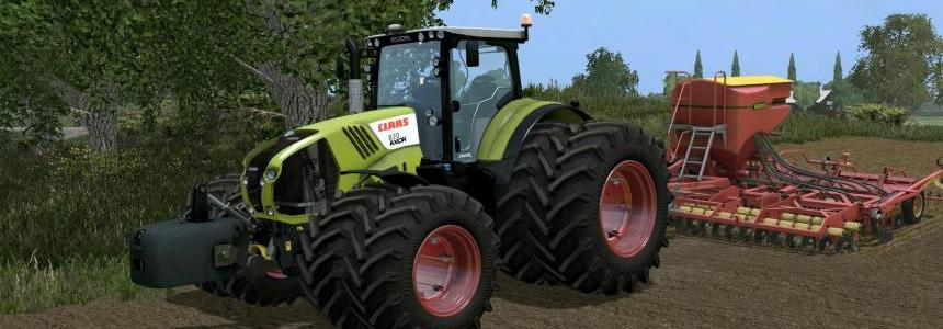 CZMOD CLAAS Axion 870 v1.5