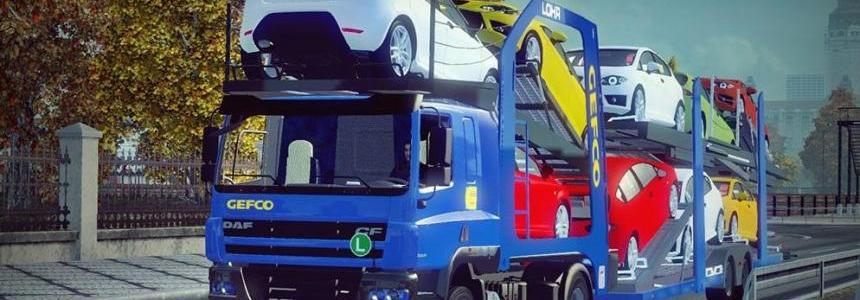 DAF CF Car Transporter 1.22.x
