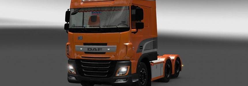 DAF XF Euro 6 Interior / Exterior Rework v1.1