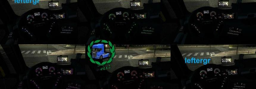 Dashboard Colour for all trucks 1.22