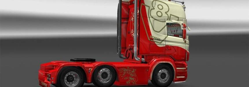 Extreme wheels skin Scania RJL