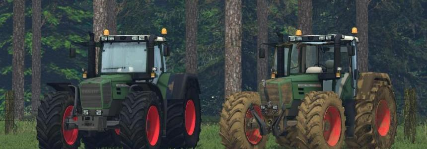Fendt Favorit 824 + Dirt v1.0