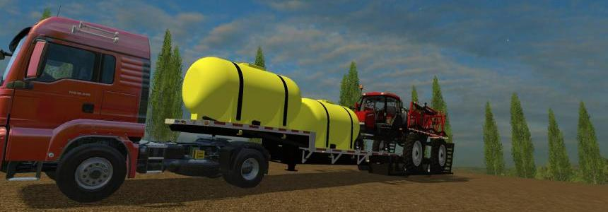 Fertilizer trailer that also tows sprayer v1.4