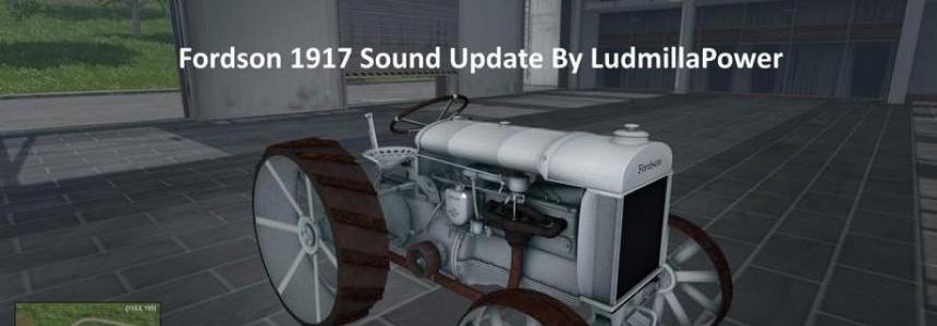 Fordson 1917 Sound Update v1.0