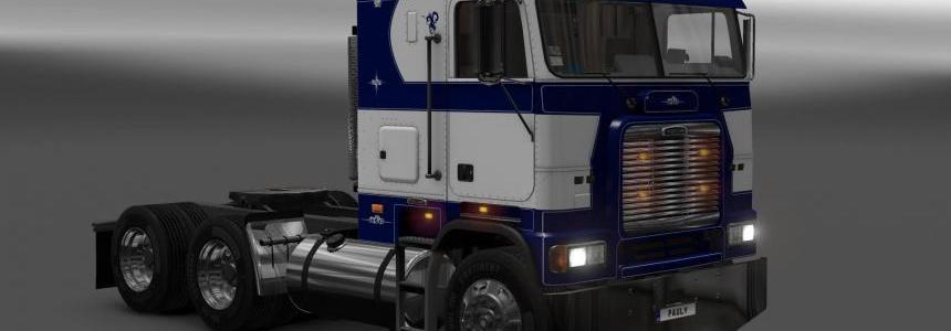 Freightliner FLB Custom Blue Skin 1.22