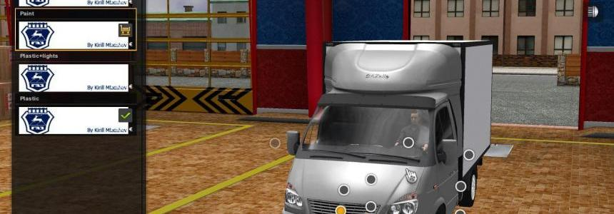 Gazel 3302 Biznes + New Addon 1.22