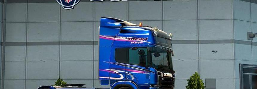 GTM RJL Scania P series cabs for Scania R & Streamline