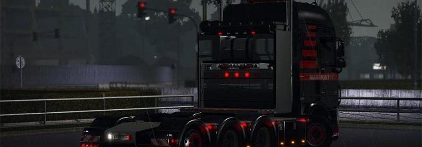Heavy Haulage Chassis addon for DAF XF Euro 6 v1.5