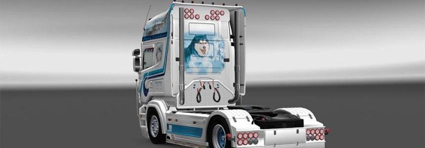 Hovo Scania Rjl skin